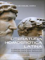 Literatura Homoerótica Latina