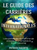 Le guide des carrières internationales