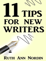 11 Tips For New Writers
