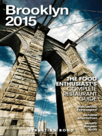 Brooklyn - 2015 (The Food Enthusiast's Complete Restaurant Guide)
