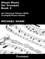 Sheet Music for Trumpet