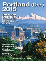 Portland (Ore.) - 2015 (The Food Enthusiast's Complete Restaurant Guide)