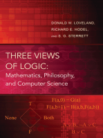 Three Views of Logic