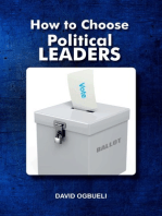 How to Choose Political Leaders
