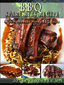 BBQ Spare Ribs Recipe: Food and Nutrition Series