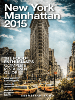 New York / Manhattan - 2015 (The Food Enthusiast's Complete Restaurant Guide)