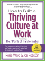 How to Build a Thriving Culture at Work