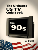 The Ultimate US TV Quiz book: The '90s