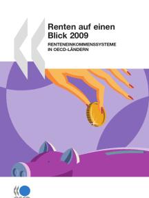 Renten auf einen Blick 2009 : Renteneinkommenssysteme in OECD-Ländern