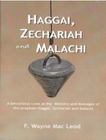 Haggai, Zechariah and Malachi