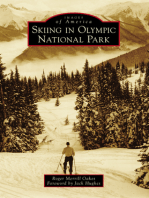 Skiing in Olympic National Park