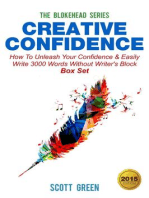 Creative Confidence:How To Unleash Your Confidence & Easily Write 3000 Words Without Writer's Block Box Set