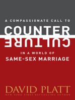 A Compassionate Call to Counter Culture in a World of Same-Sex Marriage