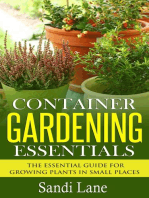 Container Gardening Essentials