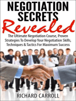 Negotiation Secrets Revealed