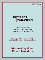Indirect Taxation