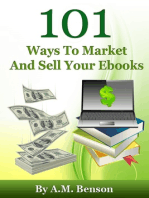 101 Ways To Market And Sell Your Ebooks