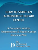 How To Start An Automotive Repair Center