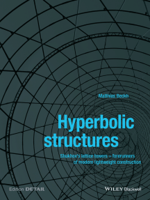 Hyperbolic Structures: Shukhov's Lattice Towers - Forerunners of Modern Lightweight Construction