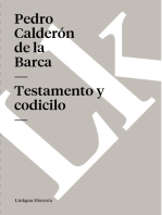 Testamento y codicilo