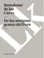 De las antiguas gentes del Perú