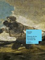 Historia de los heterodoxos españoles. Libro III