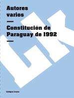 Constitución de Paraguay de 1992