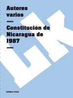 Constitución de Nicaragua de 1987