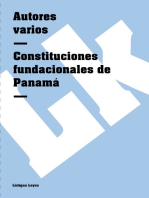 Constituciones fundacionales de Panamá