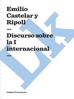 Discurso sobre la I internacional