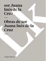 Obras de sor Juana Inés de la Cruz
