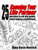 Knowing Your Life Partner