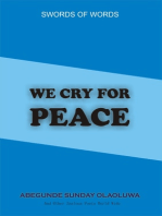 We Cry For Peace