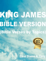 King James Bible Version (Bible Verses by Topics)