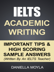 IELTS Academic Writing: Important Tips & High Scoring Sample Answers