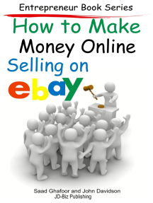 How to Make Money Online: Selling on EBay