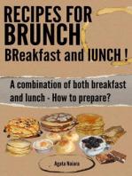 Recipes for Brunch