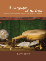 A Language of Its Own