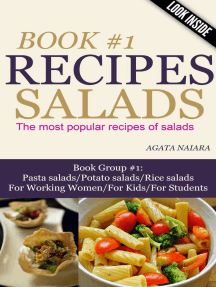 #1 SALADS RECIPES - The most popular recipes of salads (Books #1: You Still Have Breakfast/Lunch/Dinner In ONE, #1)