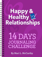 Happy & Healthy Relationships 14 Days Journaling Challenge