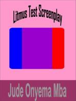Litmus Test Screenplay