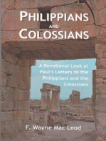 Philippians and Colossians