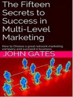 15 Secrets to Success in Multi-Level Marketing