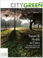 Nature & Health in Cities, Citygreen Issue 9