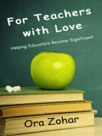For Teachers With Love