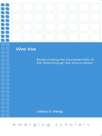 Viva Vox: Rediscovering the Sacramentality of the Word through the Annunciation