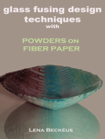 Glass Fusing Design Techniques with Powders on Fiber Paper