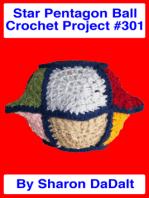 Star Pentagon Ball Crochet Project #301