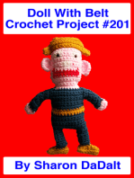 Doll With Belt Crochet Project #201