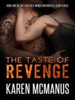 The Taste of Revenge (Lucifer's Wings Motorcycle Club, #1)